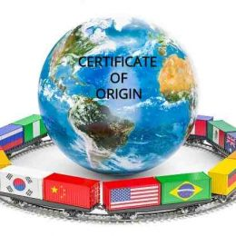 Certificate of Origin- Packing List