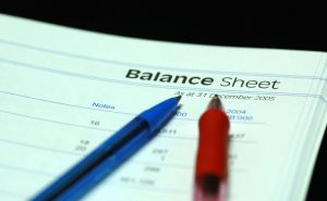 Balance sheet of commercial Bank